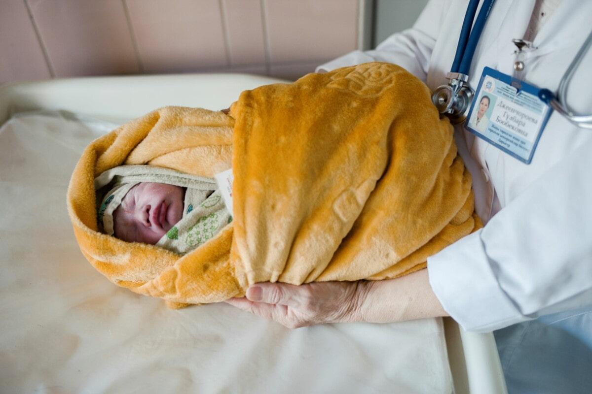 Baby (c) GIZ Maxime Fossat