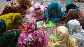 A women's Dialogue session in Pakistan