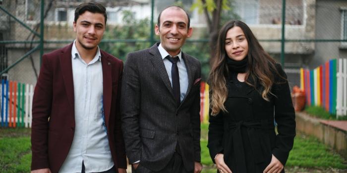 Zekeriya Shobek, İhsan Köklü and Pınar Yıldırım