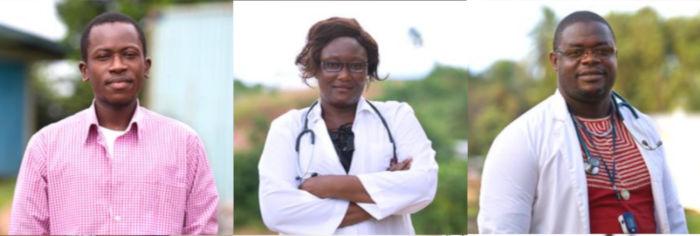 Liberian health professionals