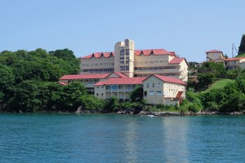 Located right on the water, St George's General Hospital is vulnerable to the impacts of climate change