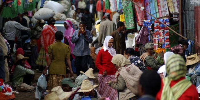 Market in Addis Abeba, Ethiopia