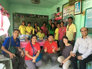 Improved collaboration between health workers and Red Cross volunteers