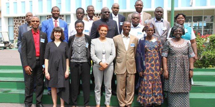 Regional meeting in Congo