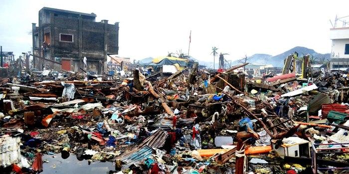 Tacloban City after Typhoon Haiyan