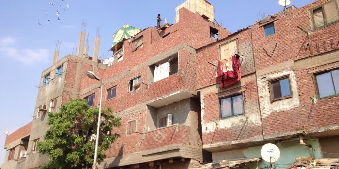 Informal settlement in the Greater Cairo Region