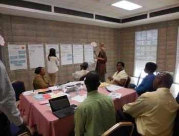 Climate change adaptation planning workshop