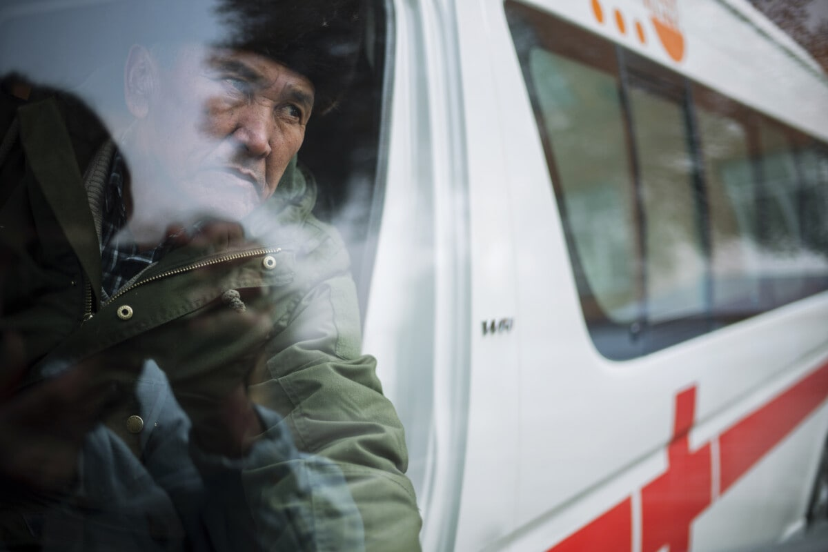Ambulance driver, Osh Region