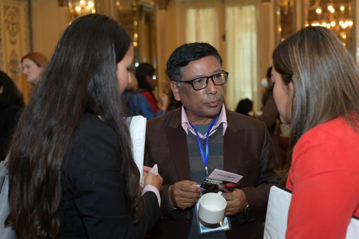 Guna Raj Shrestha at MenstruAction Summit