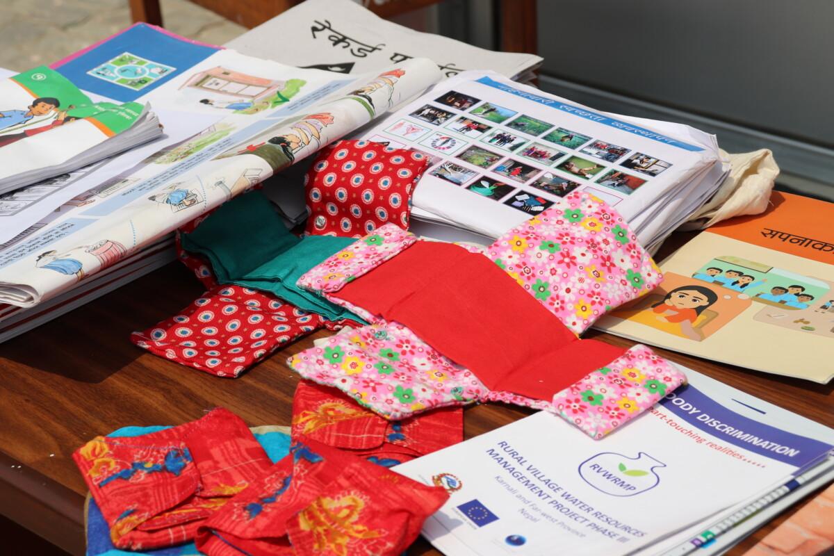 Menstrual education materials