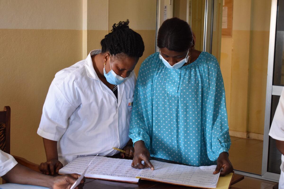 Monitorage amélioré at Guéckédou District Hospital, Guinea