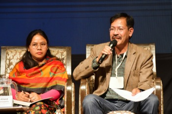 Uma Thapa Magar and Dilip Pratap Khand