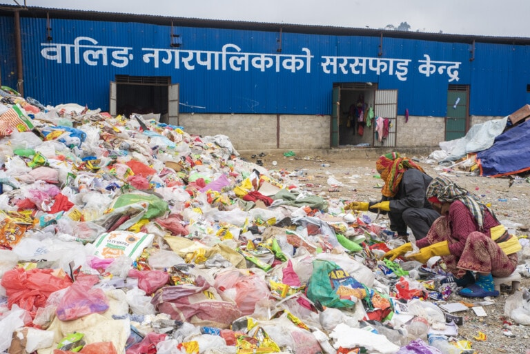 Tackling healthcare waste on the top of the world