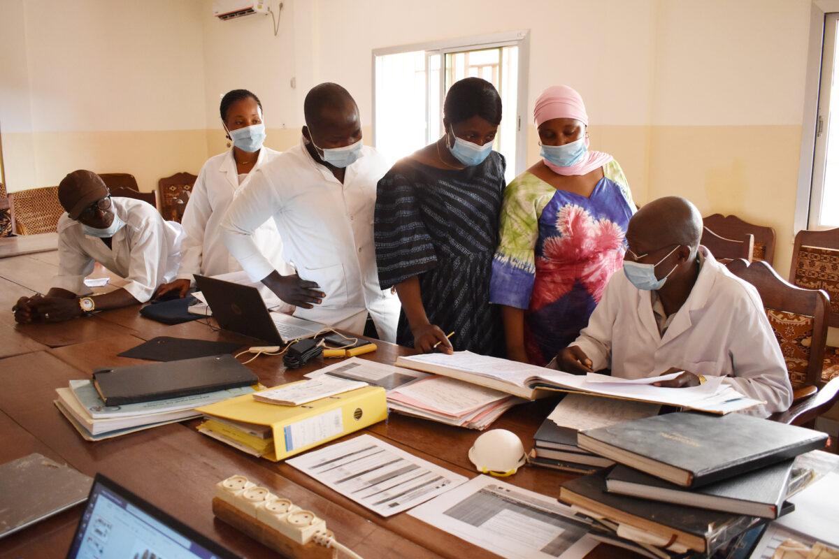 External verification (contre-monitorage) at Guéckédou District Hospital