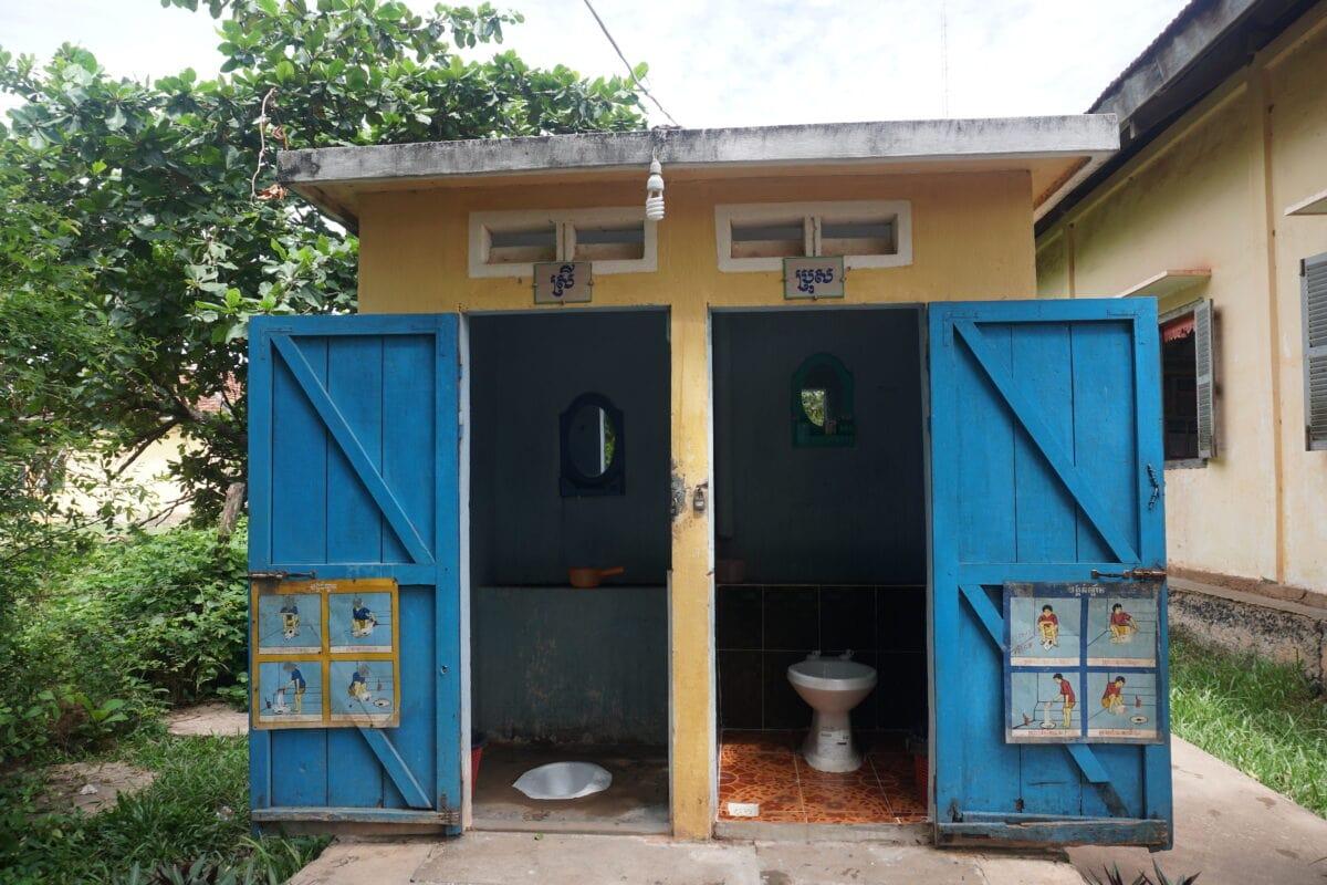 Gender-segregated toilets