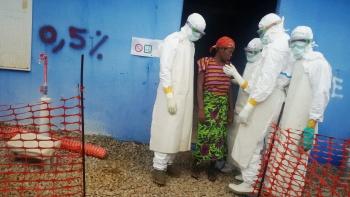 Ugandan epidemiologists in Ebola clinic in Liberia
