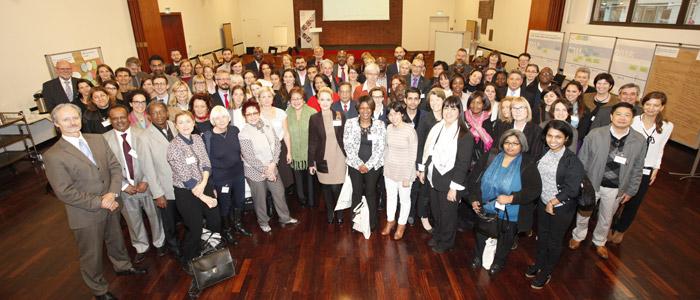 Delegates at International Dialogue 2015