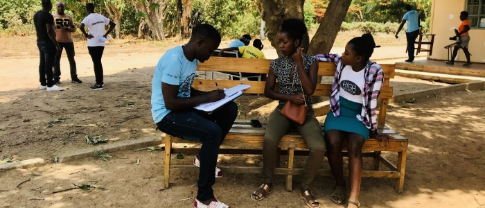 Community-based monitoring in action, rural Zambia