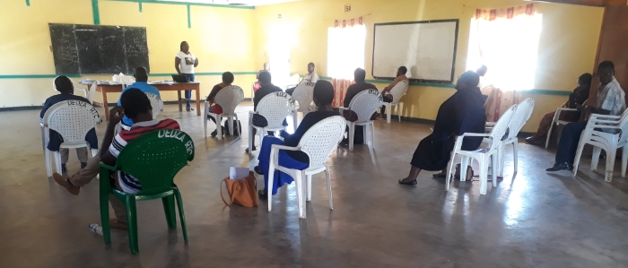 Social distancing during COVID-19 training of health workers