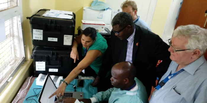 Boosting diagnostic capacities for COVID-19 across Africa