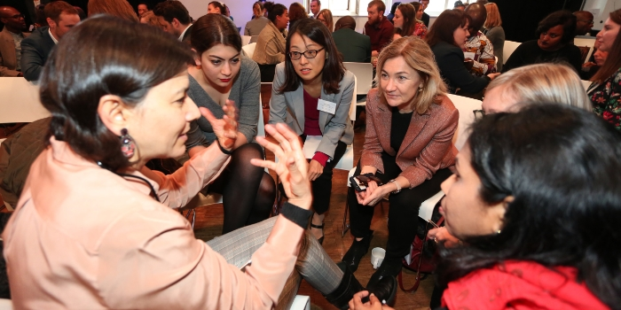Interactive discussions at the 17th International Dialogue