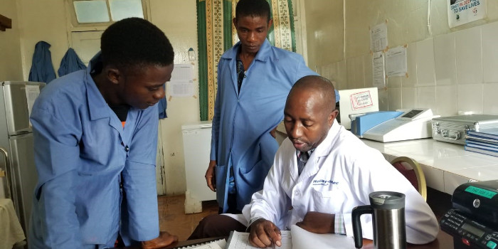 Investing in laboratories is investing in Liberia's future
