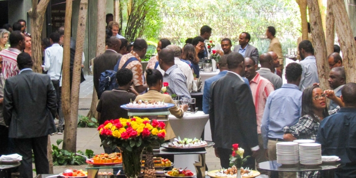 The launch of Ethiopia's new health sector project