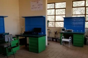The repair workshop at Nekemte Specialized Hospital