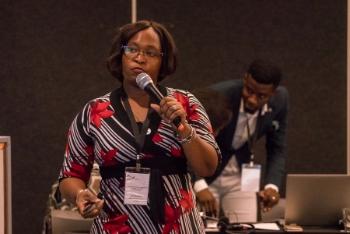 Ellen Mubanga, National AIDS Council, Zambia