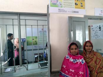 SSK Booth at Kalihati hospital