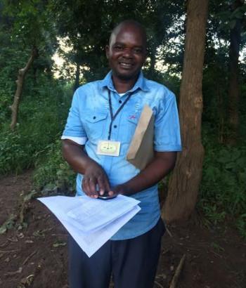 Dayton Nkhoma, District Training Team member, Dowa District