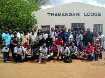 Enumerators with Government Task Force in Phalombe District