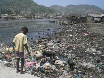 Poor water and sanitation in Haiti increased cholera risks