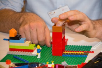 Expressing ideas through LEGO bricks