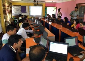 DHIS2 based electronic reporting Training in Nuwakot