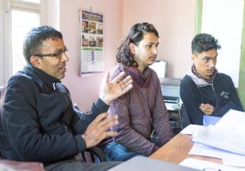 Narayan Rijal, Mukunda Bhatta, Santosh Bogati