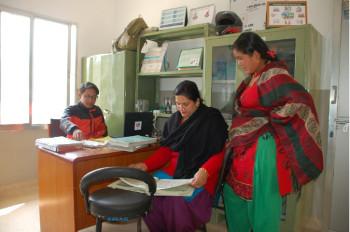 Amber Tamang, Budheshwori Khadka and Vhagwati Rimal