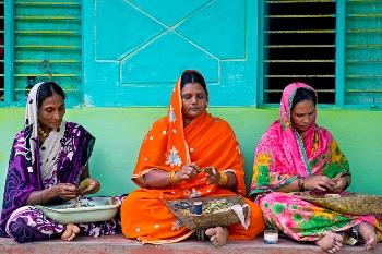 Women working in the informal sector