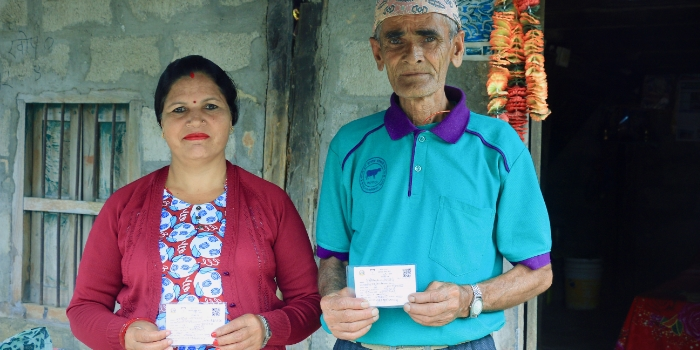 Health insurance beneficiaries in Nepal