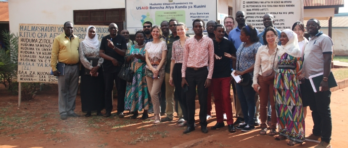 Site visit during the first openIMIS Implementers' Workshop, Tanzania