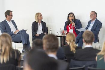 Ralf Radermacher, Esther Schüring, Anush Bezhanyan and Alastair Ager