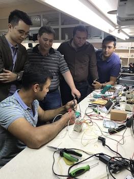 Maintenance workshop and training center in Tashkent