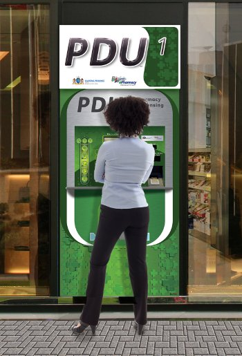 PDUs are conveniently located in public areas in three townships