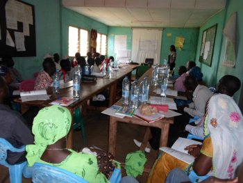 TIBATI : Meeting of Regional Funds members,Tibati district, Adamaoua region, Cameroon, 8th May 2014