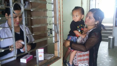 New pharmacy in Primary Health Centre, Ilam District