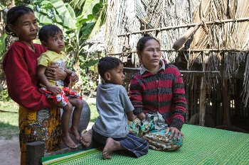 A Cambodian family living with disability