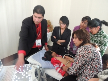 Training on the appropriate use of the new medical devices