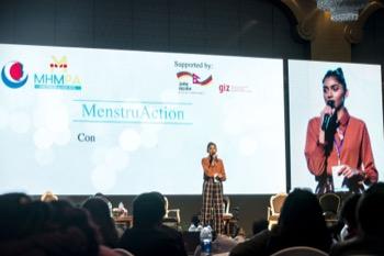 'Attitudes need to change' says former Miss Nepal Nikita Chandak.