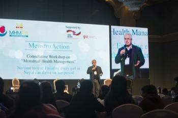 MHM changes lives, says GIZ's Dr Paul Reuckert