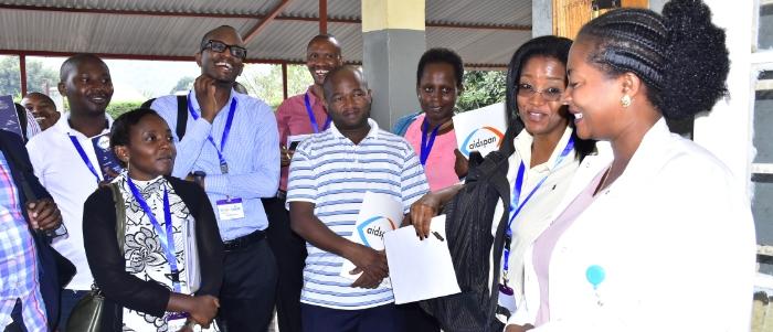 In Rwanda, the SAI team visits a health facility